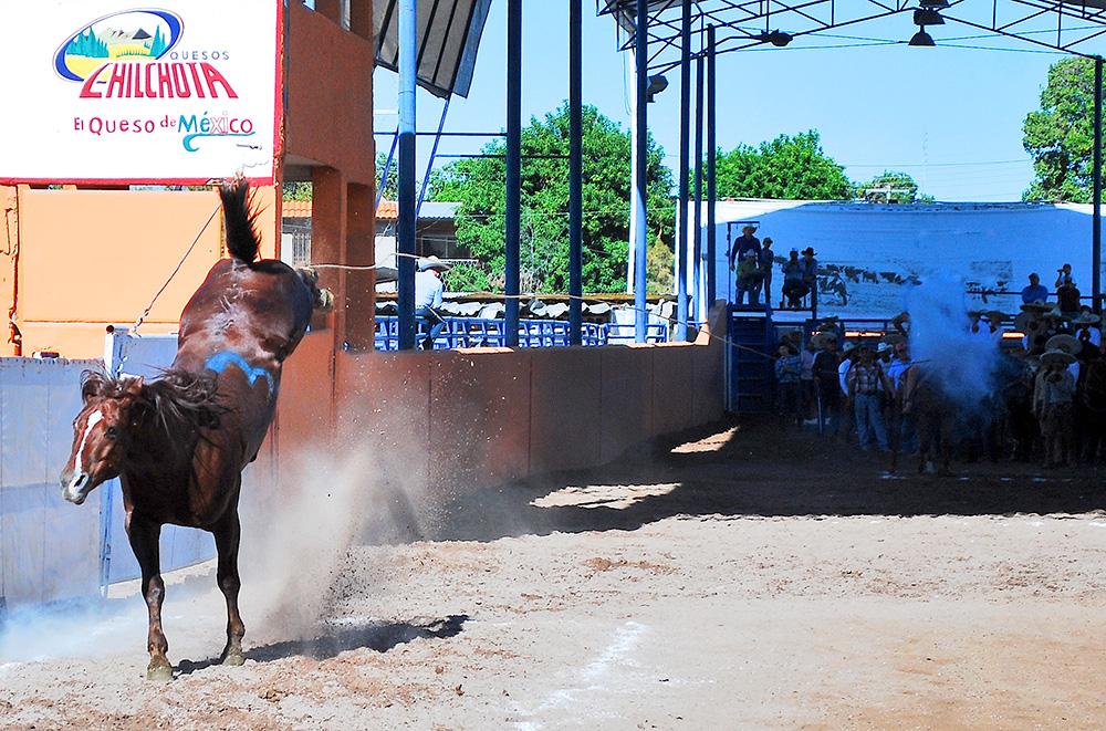 José Andrés Aceves cuajó este pial de 18 puntos para Rancho Las Cuatas